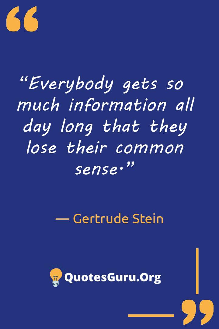 Gertrude-Stein-Quotes