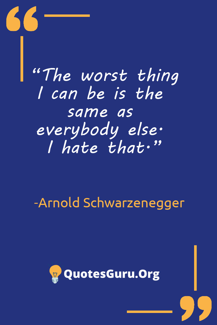 Worst Thing Quotes